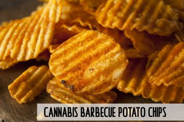 Homemade Hot Barbecue Potato Chips - CannaCook.com