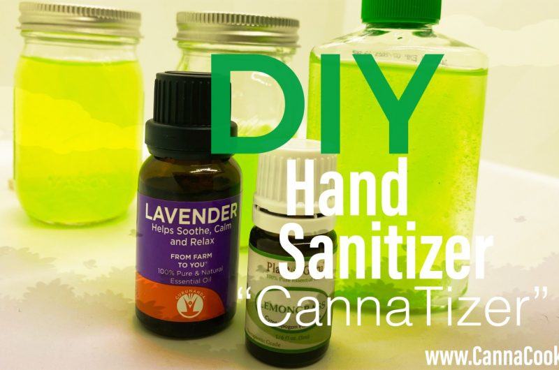 Easy Cannabis/CBD Infused Hand Sanitizer