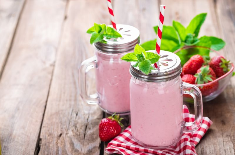 Easy Cannabis Infused Strawberry Smoothie