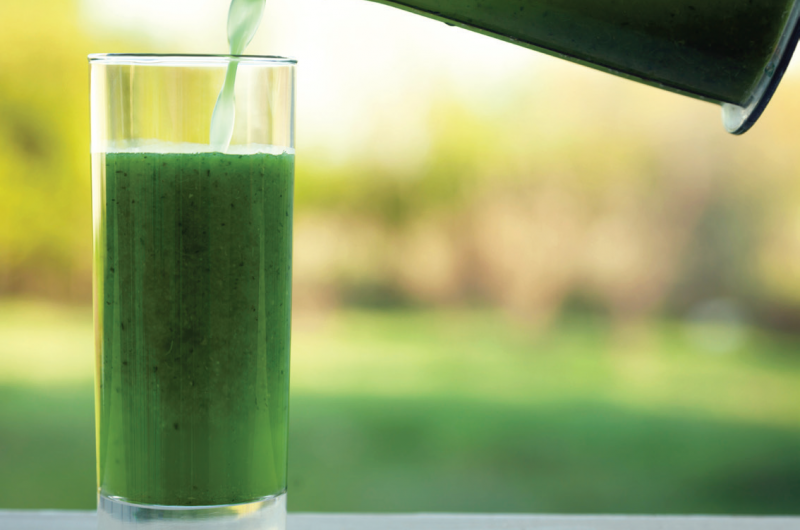 The green drink (a.k.a. The Green, Healthy Smoothie)