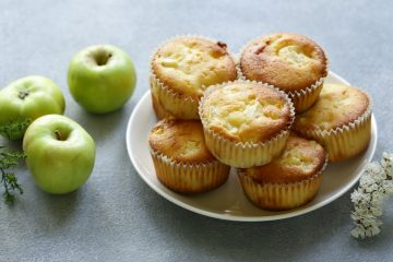 Cannabis Apple Muffins