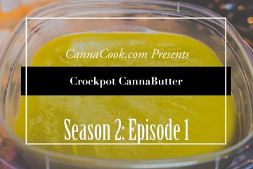 Easy Crockpot Cannabutter