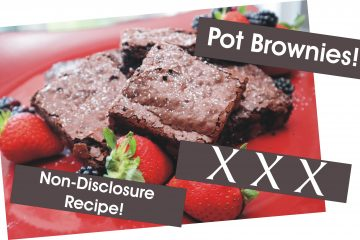 Pot Brownies by Scott Perman