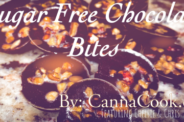Cannabis Sugar Free Chocolate Bites